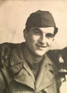 Nonno Gerald in army uniform