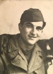 Nonno Gerald in army uniform
